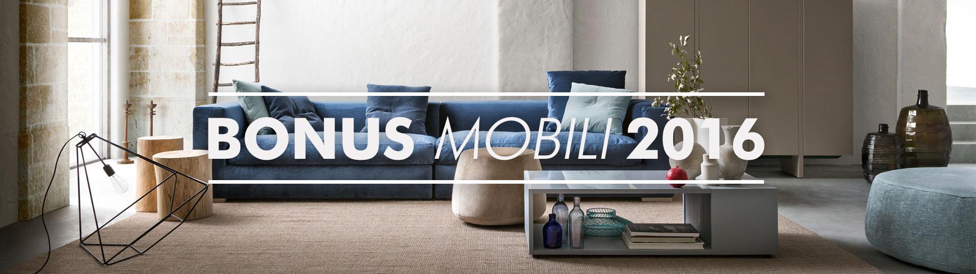 Bonus Mobili 2016
