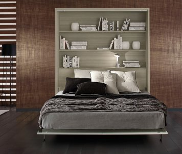 SPACE BED double bed vertical P62