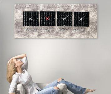 NEROLOSI CLOCK PINTDECOR