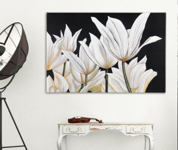 TULIPS PAINTING PINTDECOR
