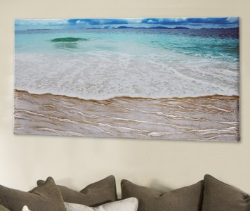BEACH PAINTING PINTDECOR