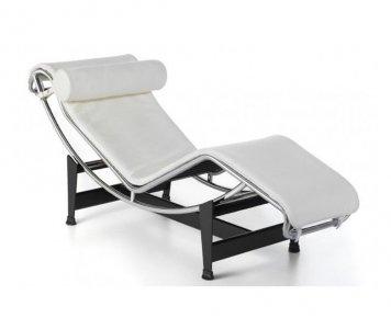 Chaise Longue LC Pelle
