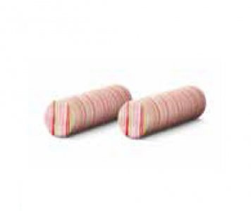 Coppia cuscini cilindrici