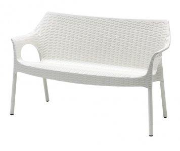 Divano da esterno con gambe in alluminio - fornito di cuscino imbottito | Gardinistore