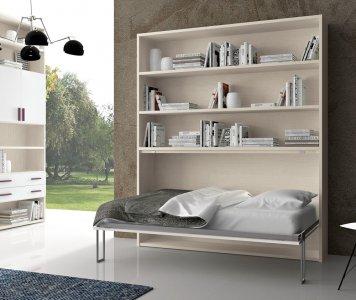 Mobili letto singolo con libreria - letti libreria| Gardinistore