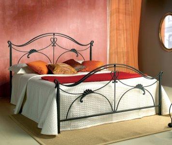 Letto in ferro battuto matrimoniale in stile ottocentesco - Gardinistore