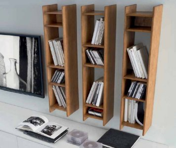 Libreria woodcase