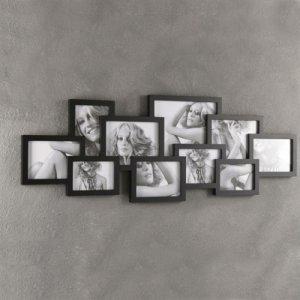 Portafoto da parete per 10 fotografie collage - Portafoto da parete ikea ...