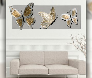 Quadro butterfly deluxe
