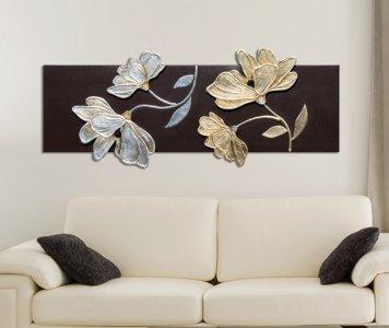 Quadro fiori lucenti