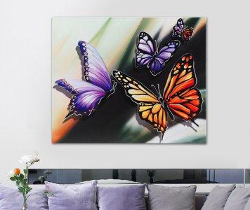 Quadro farfalle pintdecor