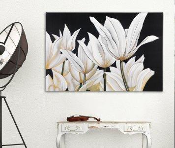 Quadro tulipani pintdecor