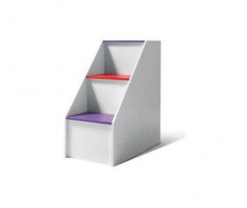 Scaletta 3 gradini per letto soppalco