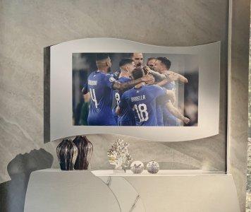 Specchio Inserto TV con predisposizione TV