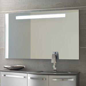 Specchiera moderna con luci a led