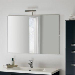 Specchiera Wap per mobile bagno con faretto