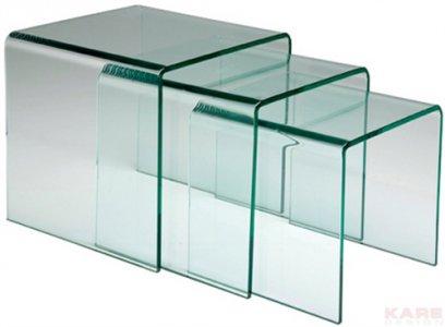 Tris tavolini 76718 kare design