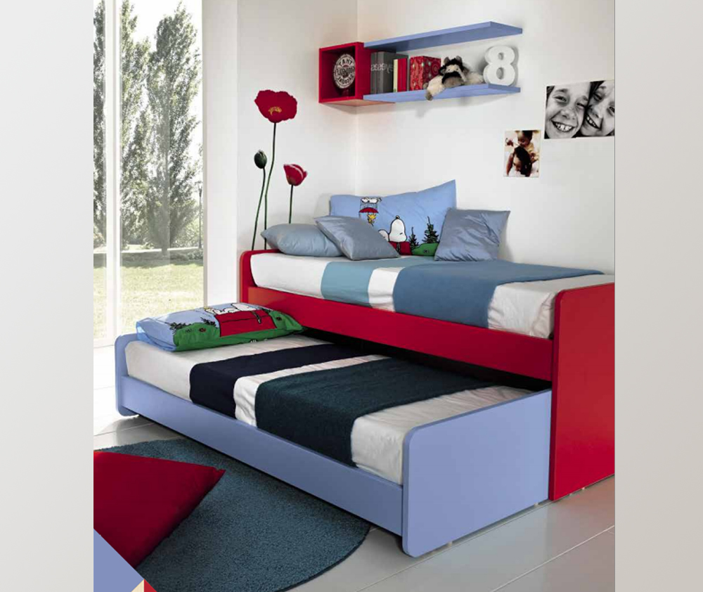 Sliding bed New Roll for kids' rooms - made in Italy ...