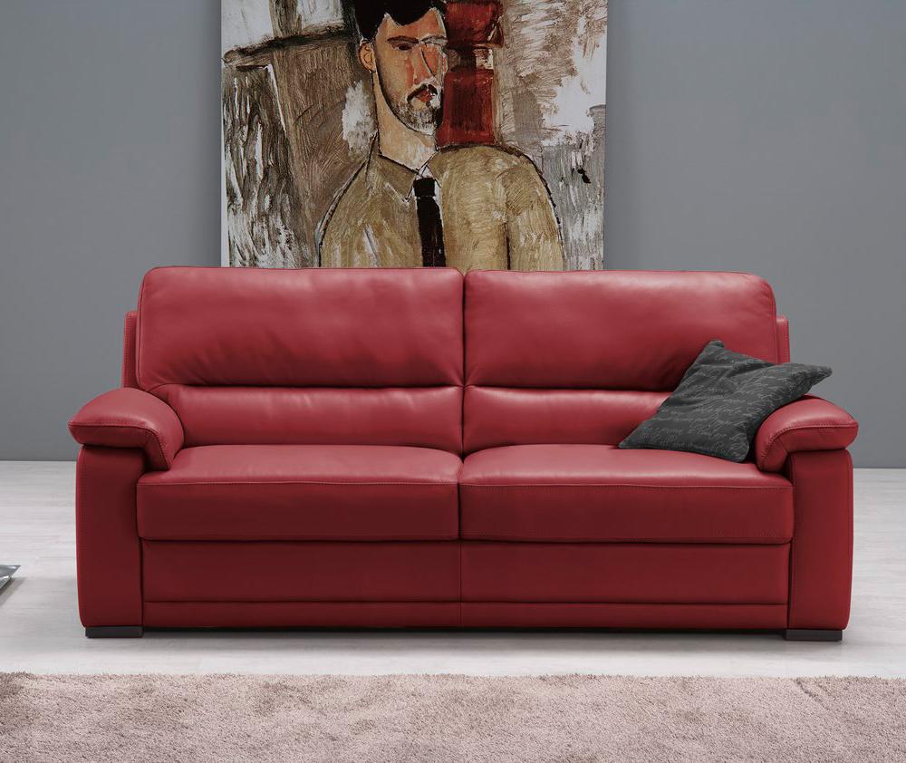 divano doris pelle 3 posti