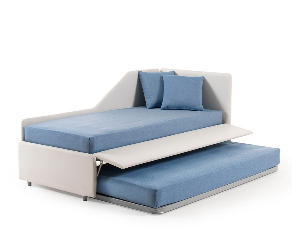 Divano letto estraibile trasformabile in letto matrimoniale - Letto a divano ...