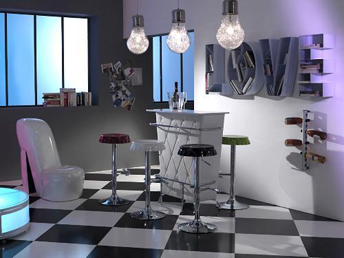 lampadario lampadina. Black Bedroom Furniture Sets. Home Design Ideas