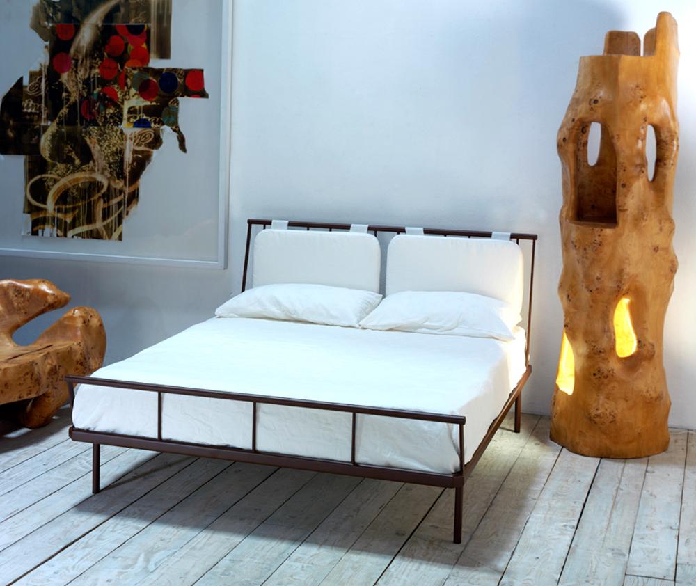Letto fiordo con cuscini cosatto - Cuscino testata letto ...