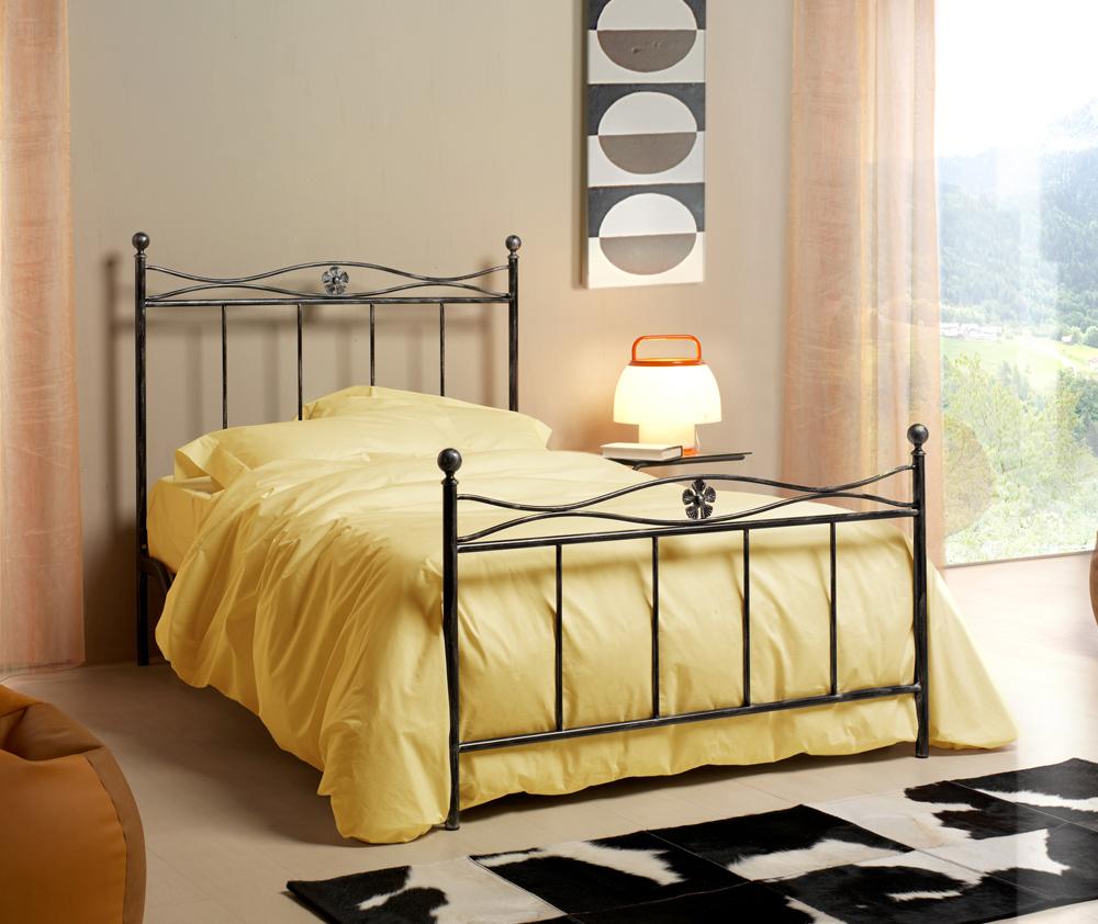 Best letto in ferro battuto con contenitore pictures - Foglia letto ikea ...