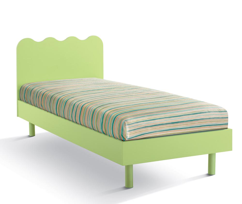 Shabby camera disegno da letto - Letto singolo con letto estraibile ikea ...