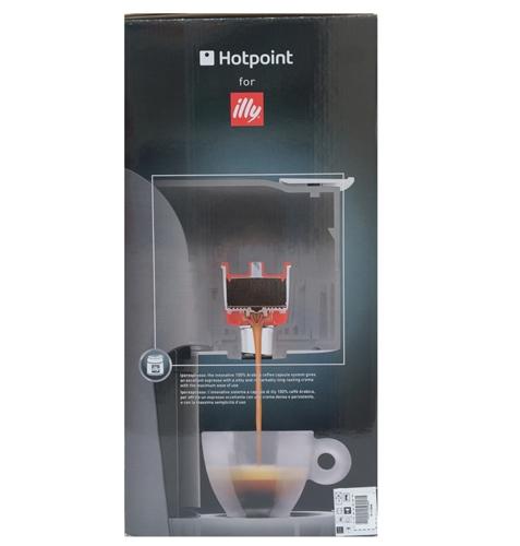 Macchina caffe espresso a capsule hd line cmhpcgx0h per caffè illi