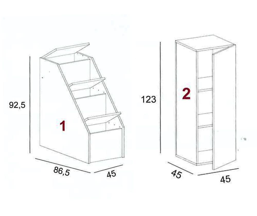 Scale Contenitori Per Letti A Castello | Opinioneuropeenne