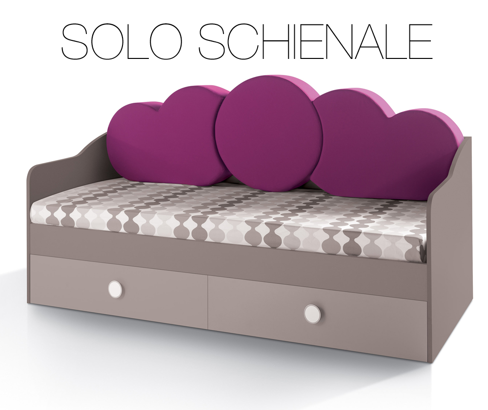 Cuscini per schienale divano letto modificare una pelliccia - Cuscini spalliera letto ...