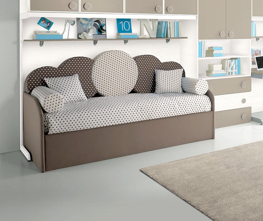 Cuscini per letto a ponte casamia idea di immagine - Cuscini schienale divano ...