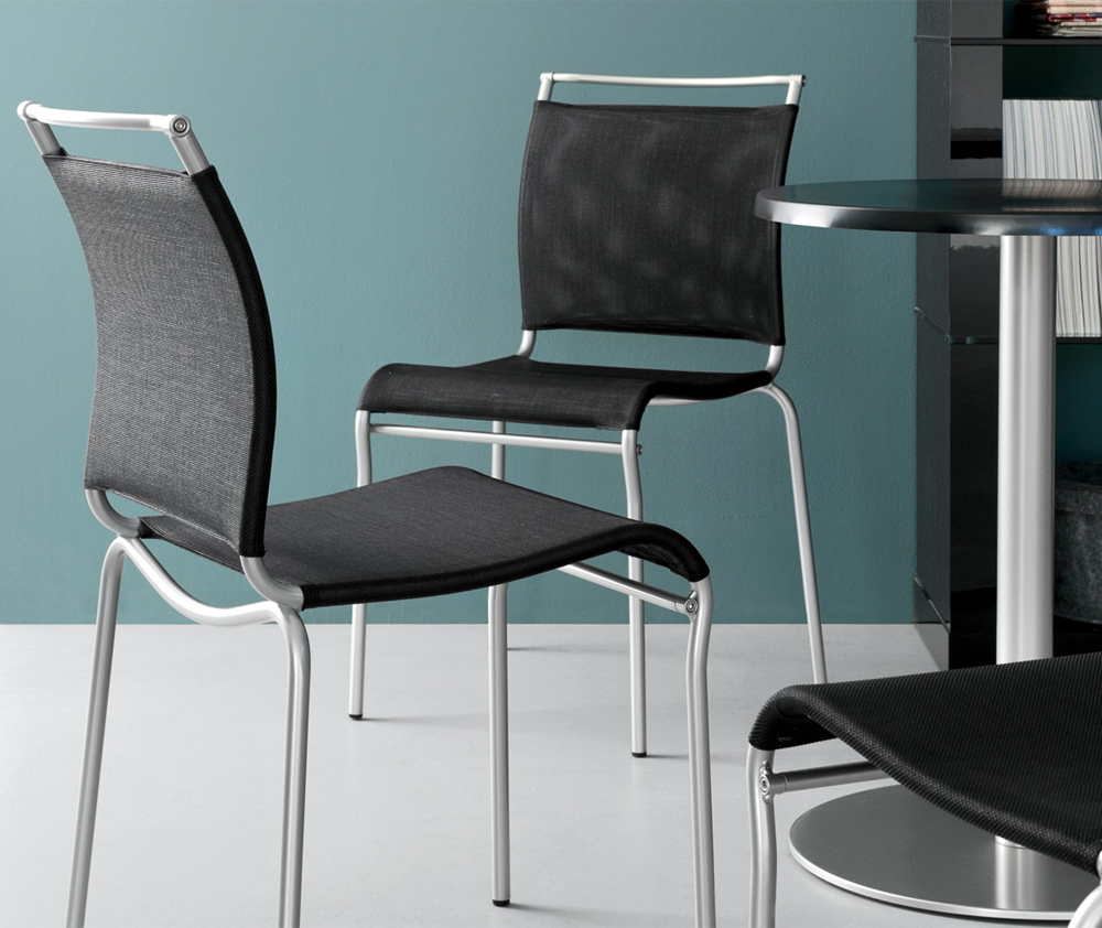 Sedia air connubia calligaris in metallo for Sedia air calligaris