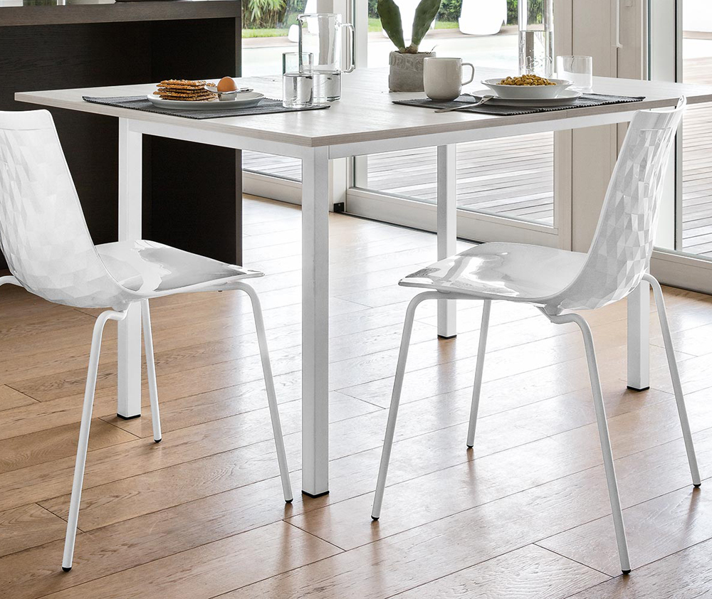 Sedia ice 1038 connubia calligaris for Calligaris connubia