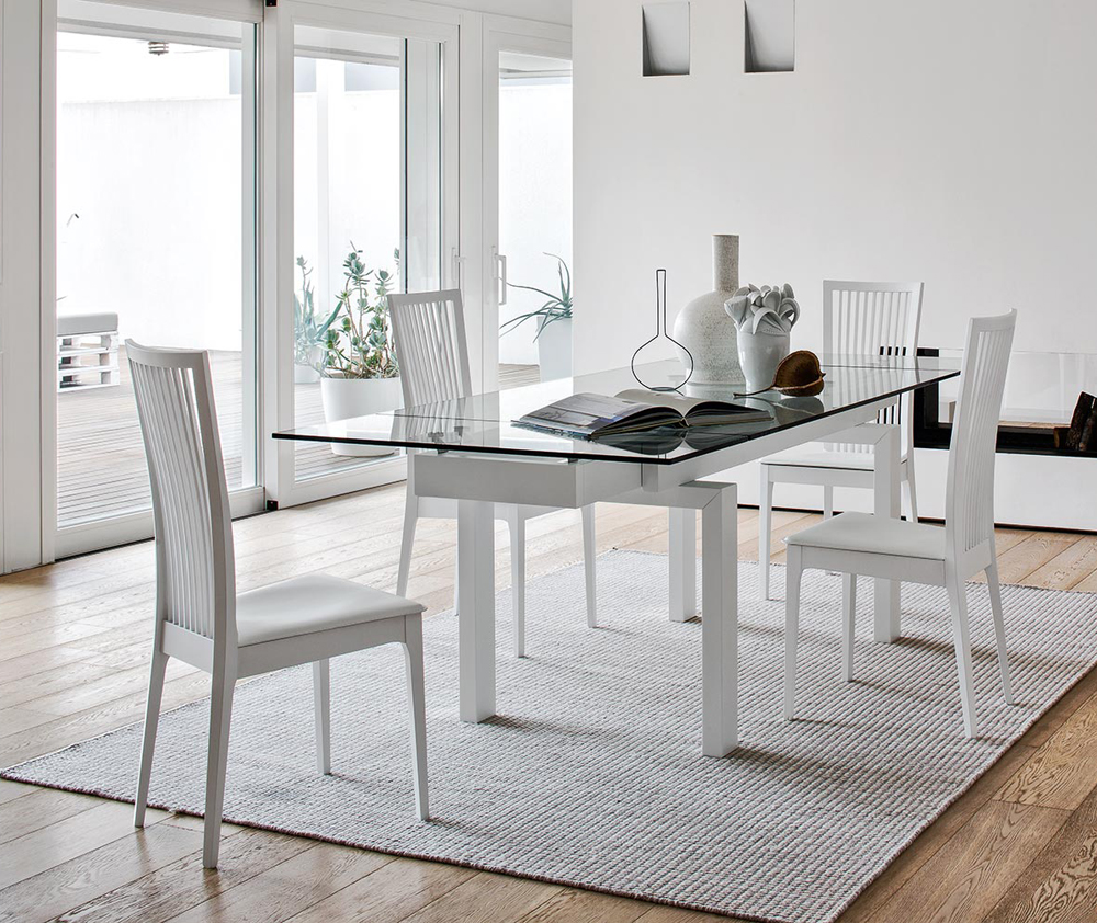 Sedia philadelphia connubia calligaris for Poltrone sala da pranzo