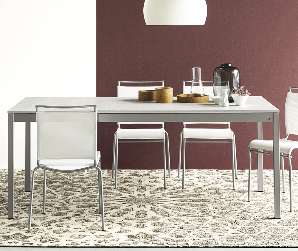 Tavolo snap 4085 mv130 connubia calligaris for Tavolo snap calligaris