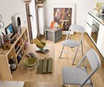 Chair alu folding