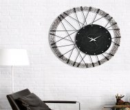 WHEEL CLOCK PINTDECOR