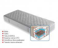 39/5000 ANALLERGIC ORTHOPEDIC NUVOLA MATTRESS