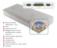 Removable benessere mattress