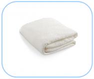 Coprimaterasso sanforizzato con elastico a cappuccio