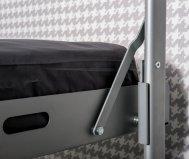 "EXTENDABLE BUNK BED ""OPEN METAL"""