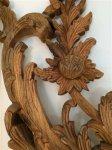 Fregio decorativo legno massello