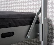 Letto a castello apribile open metal