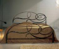Letto matrimoniale Capriccio Cosatto in ferro battuto made in Italy