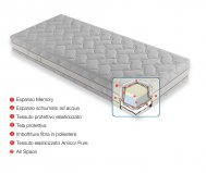 Materasso x-memory antiacaro anallergico