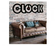 OROLOGIO BLACK CLOCK PINTDECOR