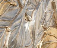 Quadro foglie d'inverno pintdecor