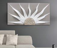 quadro solar storm white
