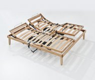 Rete Ortopedica in legno mod.Po motorizzata